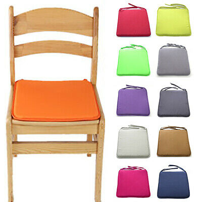 Multicoloured Outdoor Waterproof Chair Pads Cushions ONLY Garden Patio Furniture