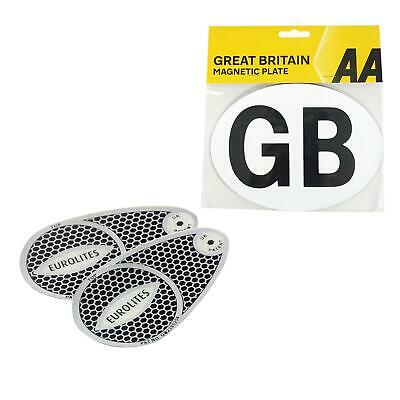 AA Headlight Beam Eurolites Deflector with Magnetic GB Sticker