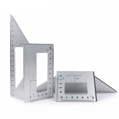 Multifunctional Angle Ruler 45 Degrees 90 Degrees Gauge Protractor