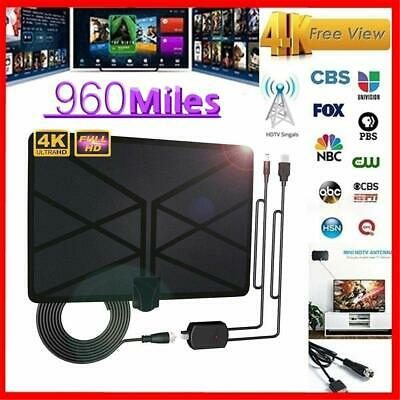 960 Mile Range Antenna TV Digital HD Skywire Antena Digital Indoor HDTV 1080P AM