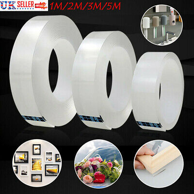 Nano-Tech Adhesive Tape Double-sided Traceless Gel Multifunctional Grip Sticker