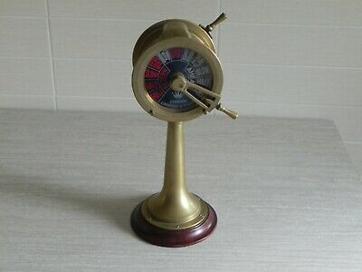 Vintage Chadburns Liverpool & London Brass Ship Engine Telegraph Not Working