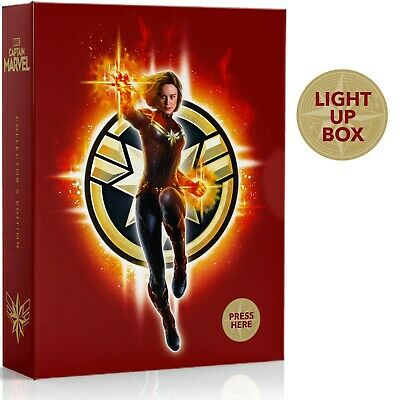 Captain Marvel (Bluray 3D) Collectors Edition Steelbook IN STOCK