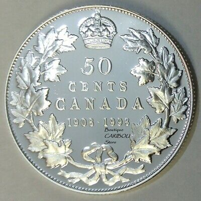 1998 Canada Silver Proof ''Mirror Finish'' 50 Cents