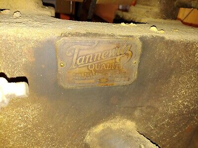 """Tannewitz Type F 16"""" 5HP Table Saw with original 440 3 phase motor"""