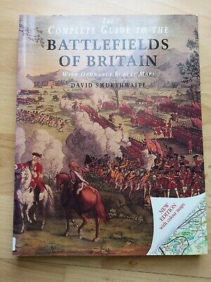 The Ordnance Survey Complete Guide to the Battlefields of Britain Paperback vg
