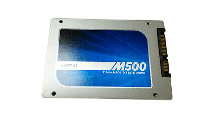 """Crucial M500 CT120M500SSD1 120GB 2.5"""" SATA III Solid State Drive"""