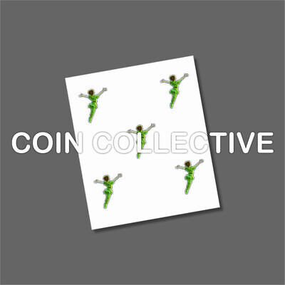 Peter Pan 50p 2019 Coin Decals