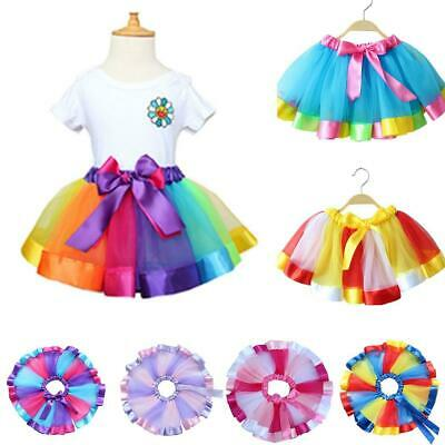 Baby Girls Casual Cute Patchwork Bow Decoration A-Line Skirt C1MY
