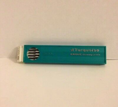 Turquoise Eagle Drawing Leads 2375 9H Lead Berol 11 / 12 Leads
