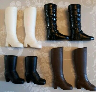 Barbie Mattel or Sindy Pedigree Doll Vintage Shoes Boots Shoes Accessories