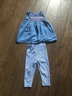 Toddler Girl Outfit Set Shirt And Pants Size 18 Months