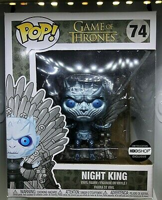 Game of Thrones - Metallic Night King on Throne - HBO Exclusive Brand New