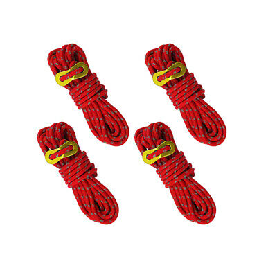 Reflective Tent rope Multifunction Guy Lines Tool Accessories 4 Metre.4mm