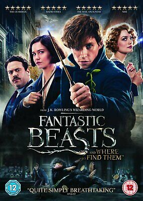 Fantastic Beasts And Where To Find Them - Region 2 DVD - Same Day Dispatch