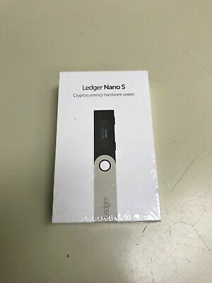 Ledger Nano S Cryptocurrency Wallet (Bitcoin,Ethereum,Litecoin)(Factory Sealed)