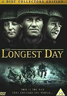The Longest Day - 2 Disc Collector Edition John Wayne Brand New UK Region 2 DVD