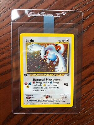 Lugia 1st Edition Holo - Neo Genesis 9/111 - Mint Condition