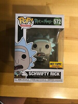 Funko Pop Rick & Morty Series Schwifty Rick Hot Topic Exclusive #572