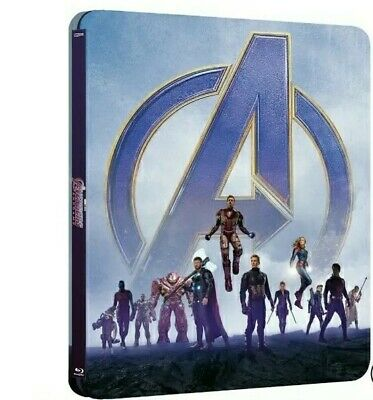Avengers Endgame (Bluray 4K) Limited Edition Steelbook PRE ORDER