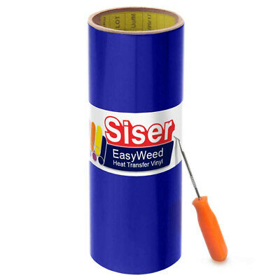 Siser Easyweed Royal Blue Heat Transfer Craft Vinyl Roll (0.9m x 38cm w/