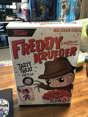 Funko POP! Nightmare On Elm Street Freddy Krueger Funkos Cereal FYE Exclusive