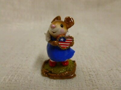 Wee Forest Folk From the Heart Fourth of July Special M-80b Red White Blue