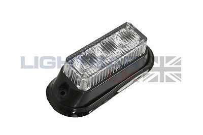 Lightbar UK 3 LED Erholung Notfall Blink Bernstein LED Licht