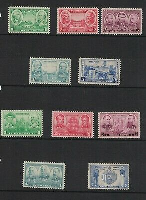 Scott 785- 794 - Army Navy Issues. Set Of 10. MH. OG.       #02 785s10