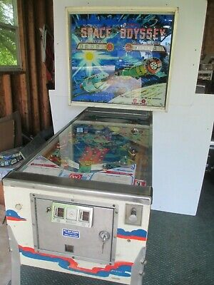 Williams Space Oydessy Pinball Machine ( 2 Players)  Vn Orgl Cond  Working 1976