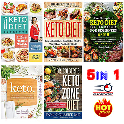 Keto Diet 5 in 1 :🥇 The Complete Guide COOKBook ' INFINITY MEALS ' 🥇 5 Pack