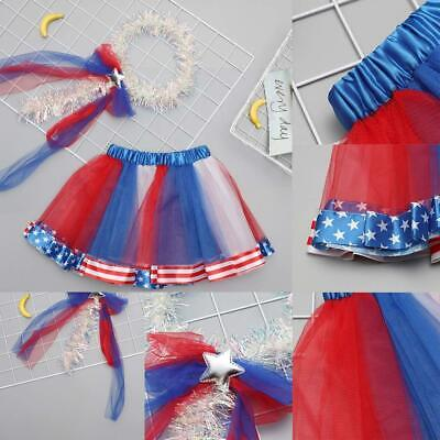 Girls Colorful Dance Outdoor Cute Skirt Photography Prop Costumes C1MY