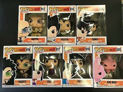 Funko POP! Animation: Dragon Ball Z 39696.97.98.99.700.01.03 Set of 7 In stock