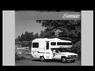 DOMETIC DUOTHERM AC HEATER FURNACE MANUALs 450pg for Motorhome RV