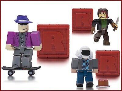 Roblox Series 4 - Lot Of 3 Roblox Series 4 Mystery Box Figures 25 Girls Boys