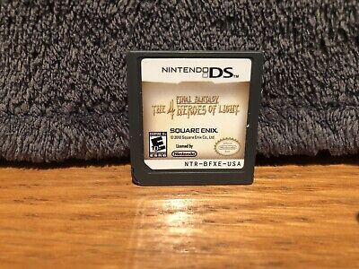 Final Fantasy: The 4 Heroes Of Light (Nintendo DS, 2009)