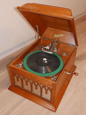 ☆—Rexonola—Gramophone—1925—Table Top—No. 10—Record—Player—78 rpm—vintage—☆