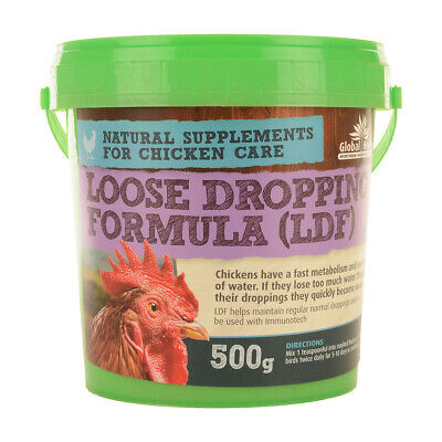 Global Herbs Loose Droppings Formula for Chickens Poultry Supplement LDF