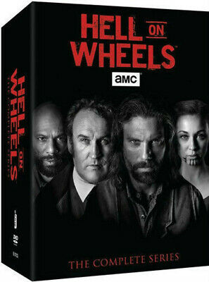 HELL ON WHEELS: The Complete Series Seasons 1 2 3 4 5 (DVD,17 Disc 2017 Box Set)