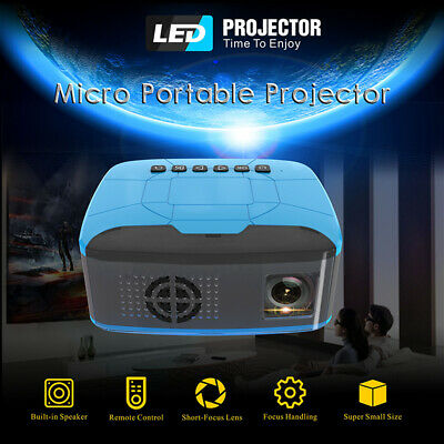 Mini Portable For iPhone Android Wifi HD 1080P DVD Video Home Theater Projector