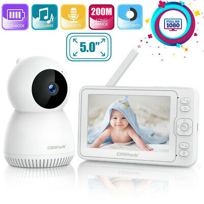 Campark Video Baby Monitor Camera Infant Digital Cam 2.4GHz Wireles Night Vision