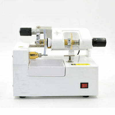 110V Optometry Eyeglass Optical Lens Cutter Cutting Milling Grinding Machine
