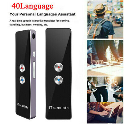 SMART TRANSLATOR 52 Languages Instant Voice Device Mini Trans Travel