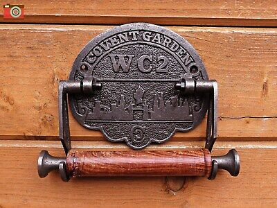 A Vintage Victorian Style Covent Garden Toilet Roll Holder. Charming Period Look