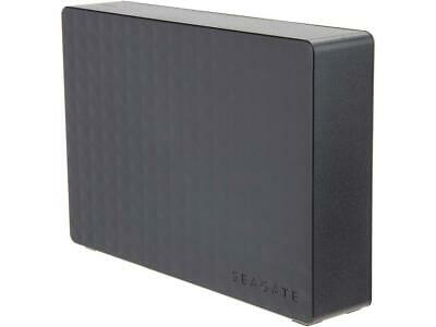 "Seagate Expansion 4TB USB 3.0 3.5"" Desktop External Hard Drive STEB4000200 Black"
