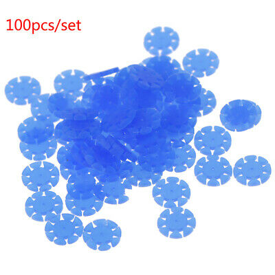 100Pcs Dental Endo Root Canal File Disinfection Marking Circle Ring Materials~PL