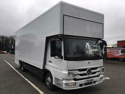 2012 Mercedes Atego 816 23Ft Furniture Dropwell Body,