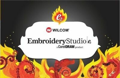 Wilcom E2 Studio With Corel Draw (Installation include! Send to your email)