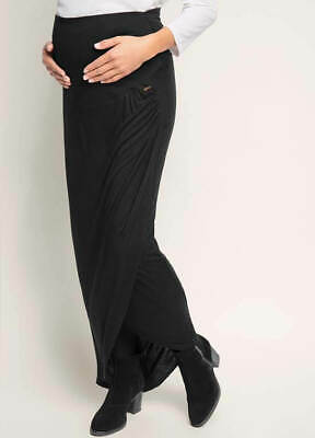 NEW - Esprit - Over Bump Faux Wrap Maternity Maxi Skirt