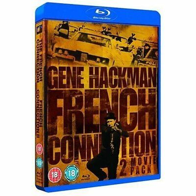 French Connection 1 & 2     (Blu-Ray)     Brand New